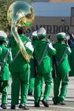 34to Desfile anual del día de la acción de gracias de WinterNational Foto de archivo libre de regalías