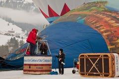 34to Festival International de Ballons Imagen de archivo