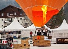 34to Festival International de Ballons Foto de archivo