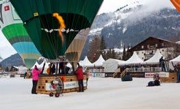 34to Festival International de Ballons Fotografía de archivo