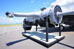 35个引擎f战斗机联接罢工 库存照片