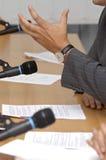 35会议 免版税库存图片