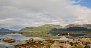 35北部挪威 免版税库存图片