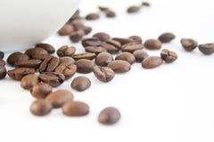 35粒豆咖啡 免版税图库摄影