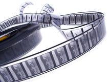 35黑色影片mm ree白色 库存照片