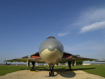 35 36 b vulcan的轰炸机关闭 图库摄影