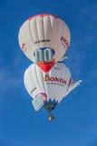 35. Ballon-Festival der Heißluft-2013, die Schweiz Stockbild