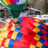 35. Ballon-Festival der Heißluft-2013, die Schweiz Lizenzfreies Stockfoto