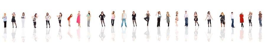 35 jonge organismen Stock Foto