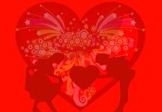 35 mój valentine byli Obraz Stock