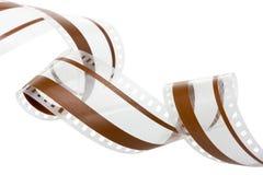 35 magnetisk millimetrar för ljudsignal film trac Fotografering för Bildbyråer