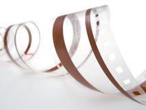 35 magnetisk millimetrar för ljudsignal film trac Arkivbilder