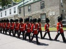 35 marzos canadienses del grupo de brigada, día 2007 de Canadá Fotografía de archivo