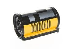 35 milímetros de carrete de película Imagen de archivo libre de regalías