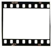 35 milímetros de filmstrip, frames de retrato, Foto de Stock