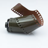 35 milímetros de stip da película Fotografia de Stock Royalty Free