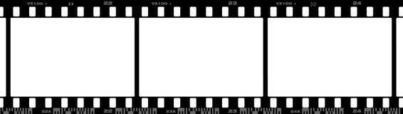 35 Millimeter-Film Stockbild