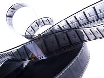 35 Millimeter-Schwarzweiss-Film ree Lizenzfreie Stockfotos