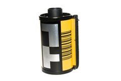 35 millimetri di rullo di pellicola Fotografia Stock