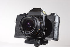 35 mm aparat stara Obrazy Stock