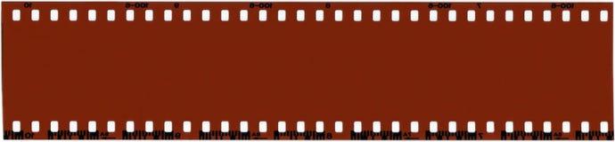 35 mm film ślepej próby zdjęcie royalty free