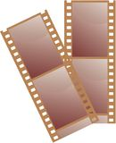35 mm film. Vector illustration Royalty Free Stock Photos
