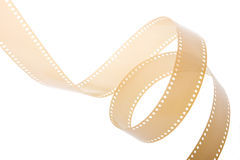 35 mm Film 4. 35 mm film isolated in white background Royalty Free Stock Photography