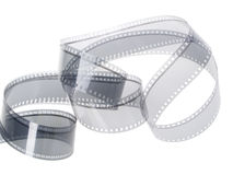 35 mm Film Audio Track Stock Photography