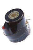 35 mm film reels vertical Stock Image