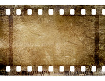 35 mm film strip. On grunge background Stock Photo