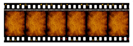 35 mm movie Film reel. Old 35 mm movie Film reel,2D digital art Royalty Free Stock Photography
