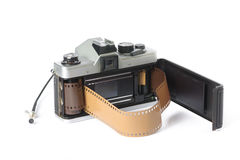 35 mmcamera Royalty-vrije Stock Foto's