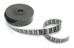 35 svart filmmillimetrar white Arkivfoton