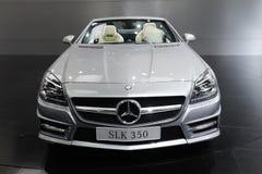 350 benz frontowy Mercedes slk obrazy stock