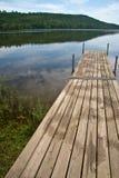 3510个湖码头 图库摄影