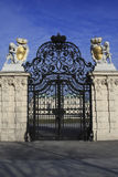 355 Gate at Belvedere Palace in Vienna Austria Royalty Free Stock Images