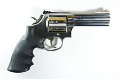 357 Magnum. Pistol for the prevention and suppression of crime royalty free stock photography