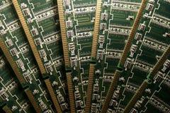 计算机存贮器模块v 库存图片