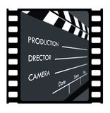 35mm幻灯片框架 图库摄影