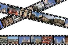 35mm影片 库存照片