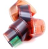 35mm影片 免版税库存照片
