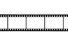 35mm影片 免版税库存图片