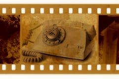 35mm框架老照片 库存图片