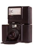 35mm照相机折叠的葡萄酒 库存图片