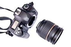 35mm照相机数字式现代 免版税库存图片