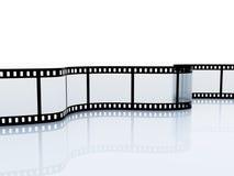 35mm空的影片srip 免版税图库摄影