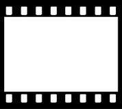 35mm胶卷画面主街上 图库摄影