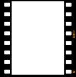 35mm胶卷画面框架主街上 免版税库存照片