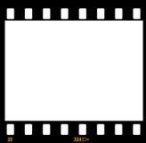 35mm胶卷画面框架主街上 免版税库存图片