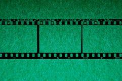 35mm achtergrond met groene chroma 2 Royalty-vrije Stock Foto's